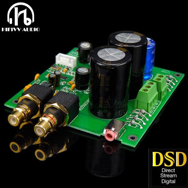 ES9028Q2M ES9038Q2M DACสำหรับHifiเครื่องขยายเสียงถอดรหัสXLR Out I2SอินพุตรองรับI2S 32bit 192K DSD64 128 256