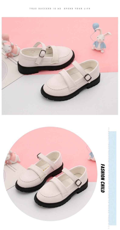 meninas sapatos de couro menina vestido crianças