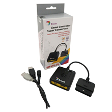 Brook Super Converter อะแดปเตอร์สำหรับ PS3 สำหรับ PS4 Controller Gamepad Fightstick ล้อแข่งสำหรับ PS2 สำหรับ PC สำหรับ PS คลาสสิก