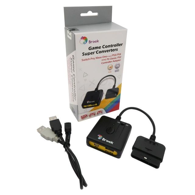 Brook Super convertidor adaptador para PS3 para PS4 Gamepad del regulador del Fightstick rueda de carreras para PS2 para PC para PS clásico