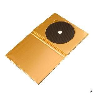 Image 2 - פחמן סיבי קלטת דיסק מחצלת בסיס כוונון כרית HiFi אודיו פטיפון מכונה אנטי הלם הלם בולם רטט