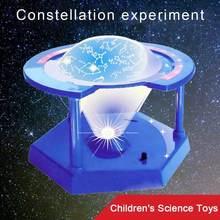 Nouveaux enfants expérimentent Mini Constellation rotative enfants apprentissage éducatif noël pour enfants cadeau Science jouets Scie Y3D7