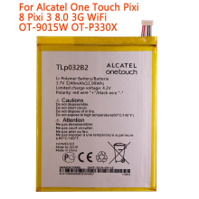 high quality 3240mAh TLp032B2 Battery For Alcatel One Touch Pixi 8 Pixi 3 8.0 3G WiFi OT-9015W OT-P330X TLp032B2 TLp032BD Batter клип кейс alcatel color skin для 9005x pixi 3 желтый
