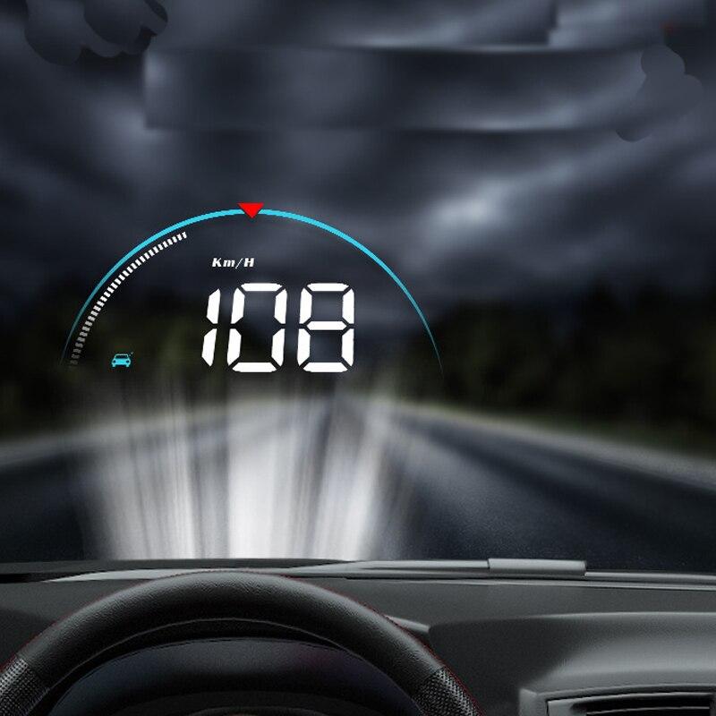 New Smart Head Display Universal Car Display HUD Car Projector Display Auto Parts XC-84