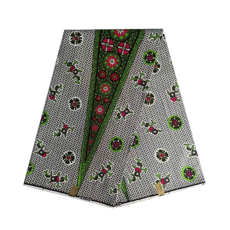 2019 dernière conception cire africaine ankara femmes imprimé en tissu néerlandais bloc conception 100% coton 6 yards/pièce offre spéciale V-L 663