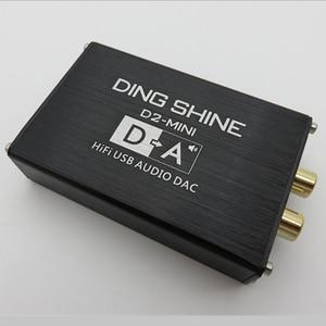 Image 1 - Мини Hi Fi USB внешняя звуковая карта ES9018K2M, DAC декодер NE5532 TL072 op amps 24 бит 96 кГц