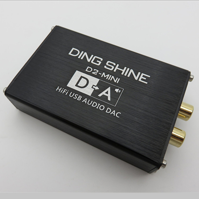 Мини Hi Fi USB внешняя звуковая карта ES9018K2M, DAC декодер NE5532 TL072 op amps 24 бит 96 кГц