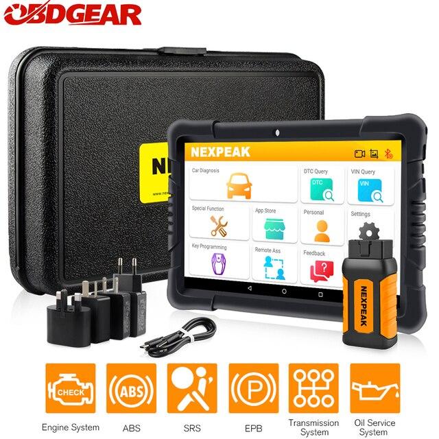 Nexpeak k1 PRO Obd2 sistemi completi strumento diagnostico Scanner Auto ABS Airbag olio EPB DPF Reset Obd 2 Immokey Scanner automobilistico
