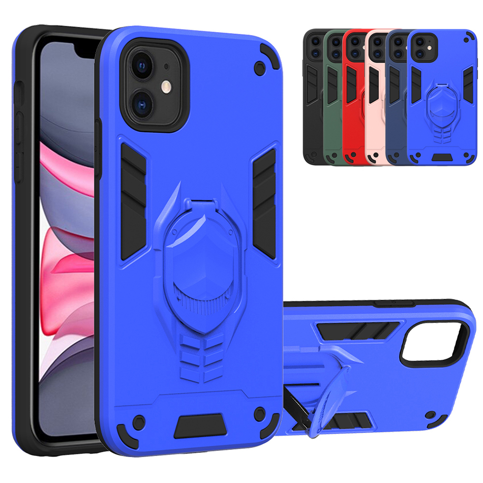 Coque Cover Case For Iphone 11 Pro Max XS Max XR X XS 7 8 Plus Stand Cover For LG K31 K51 V50S G8X K40 K30 2019 V60 Thinq 5G