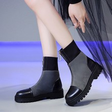 Womens Winter Sneakers Women Sock Boots Casual Shoes Woman Ankle Plush Rubber Platform chunky