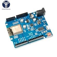 WeMos D1 CH340 CH340G WiFi Development Board ESP8266 ESP-12 ESP-12E Module For Arduino IDE UNO R3 Micro USB ONE 3.3v 5v 1A