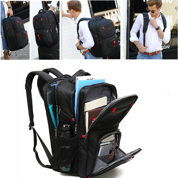 POSO Backpack 17.3Inch Laptop Backpack Nylon Waterproof Student Anti-theft Backpack Fashion Business Travel Backpack poso backpack 17 3inch laptop backpack waterproof backpack backpack men s backpack anti theft backpack,