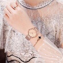 Women Watches Top Brand Luxury Diamond Dial Elegant Ladies Watch Steel Belt Rose Gold Watch Women Quartz Waterproof Wristwatch цена 2017