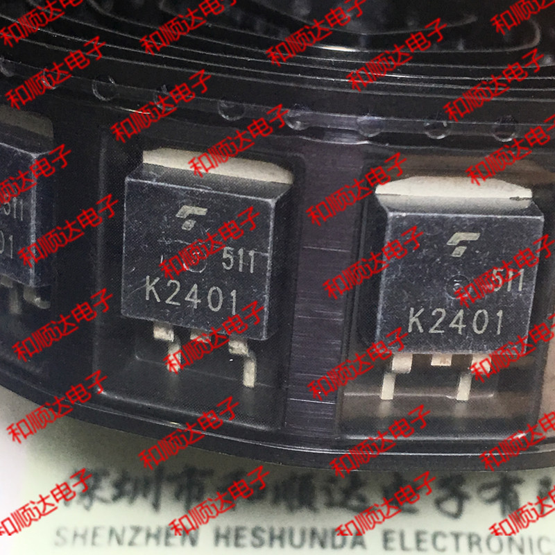 10pcs/lot K2401 2SK2401 New Stock TO-263 200V 15A