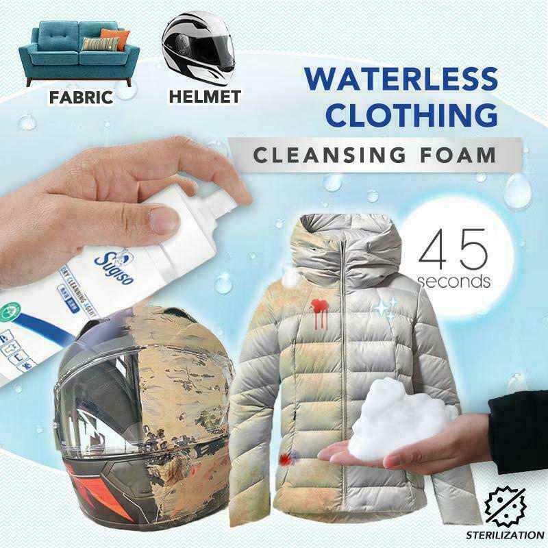 水なし服洗顔フォーム服コートジャケット靴バッグ洗浄剤 MJJ88