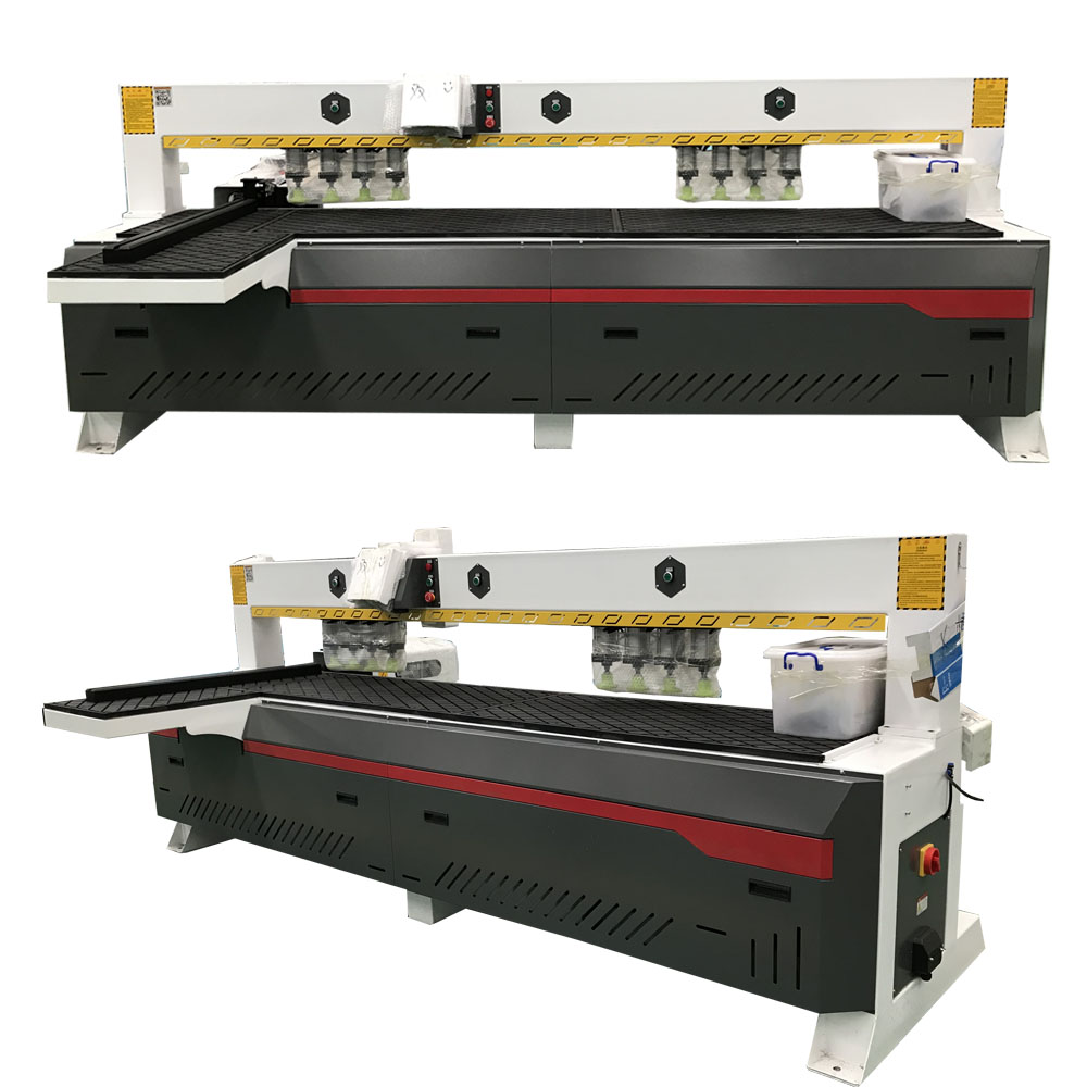 Laser Side Hole Machine Laser Probe Infrared Side Hole Drilling Machine Fully Automatic Woodworking Horizontal Drill Making