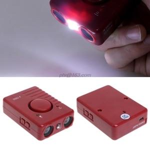 Image 5 - 공격적인 개를위한 LED 가벼운 훈련 장치를 가진 애완 동물 개 Repeller 반대로 짖는 소리 중지 나무 껍질
