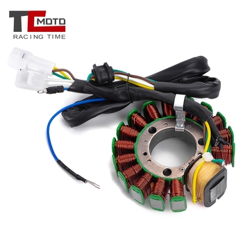 TCMOTO Motorcycle Magneto Stator Ignition Coil For Yamaha TTR225 TT-R225 1999-04 XT225 Serow 225 2001-07 4JG-85510-01-00
