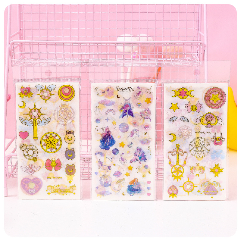 10 Pcs/pack Dream Goddess Bullet Journal Decorative Stationery Stickers Scrapbooking DIY Diary Album Stick Lable