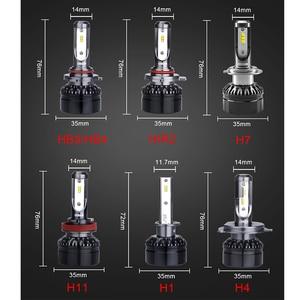 Image 5 - أوسرام H1 LED H7 H4 H11 الضباب الخفيف 9006 9005 HB4 HB3 6000K سيارة ضوء 9012 HIR2 12 فولت Led السيارات المصابيح الأمامية الموفرة للطاقة لمبة