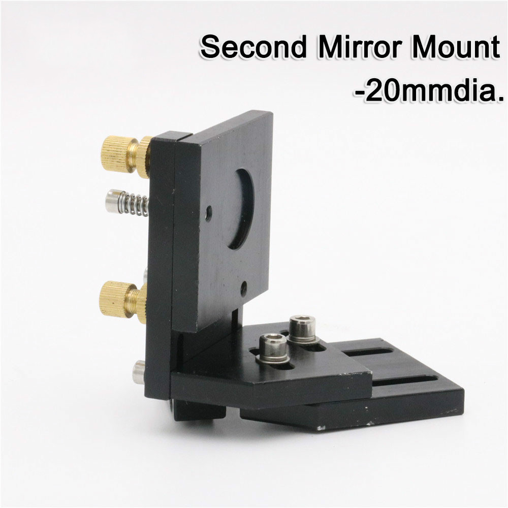 Co2 Laser Second Reflection Mirror Mount Support For Laser Mirrors 20mm
