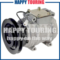 10PA15C AC A/C COMPRESSOR for Toyota Hilux 2.4 TD 4WD 4472001521 4473001170 PA3 708573
