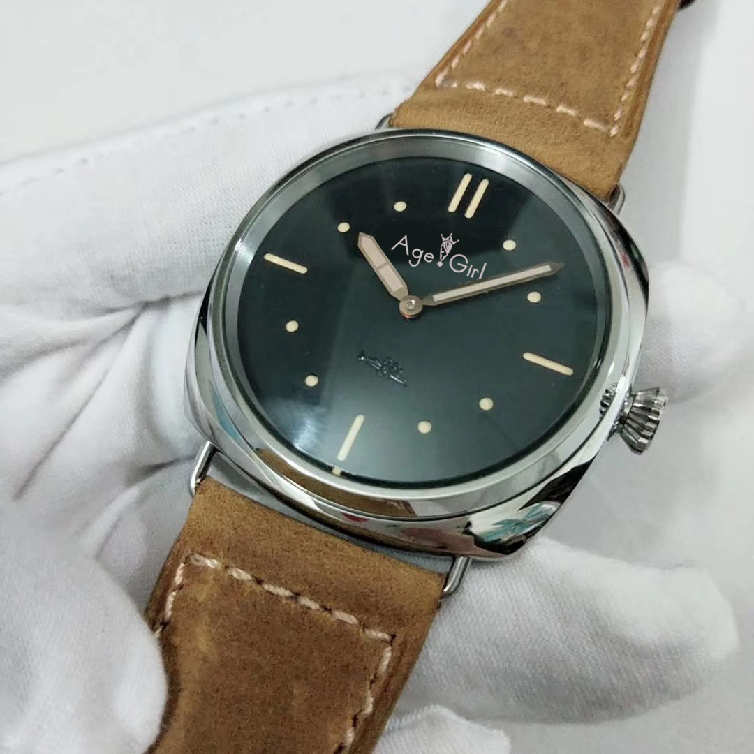 Luxury Brand New Men Automatic Mechanical Sapphire Stainless Steel Watches Silver Black Brown Leather Sport Limited Watch AAA+