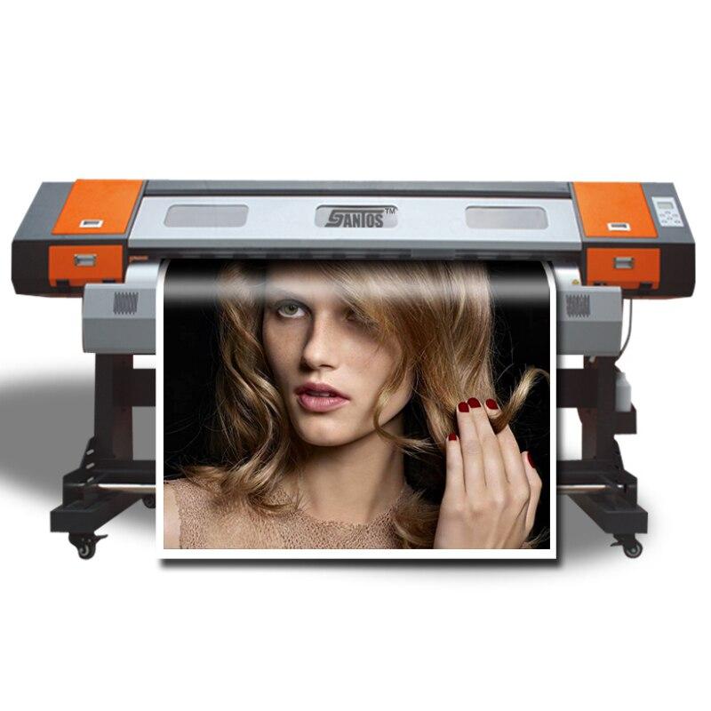 1.8M Indoor Digital Printing Machine With One Xp600 Printer Machine Eco Solvent Sign Printing Machine