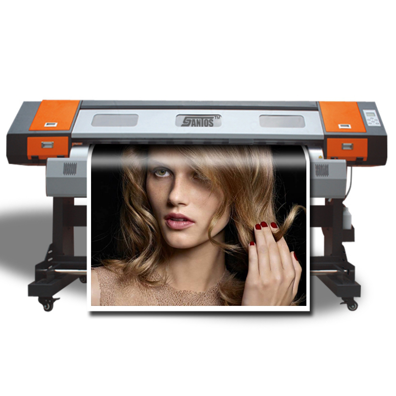 Canvas Printing Machine 6 Feet Large Scale Printers Cheap Price Eco Solvent Sign Printing Machine