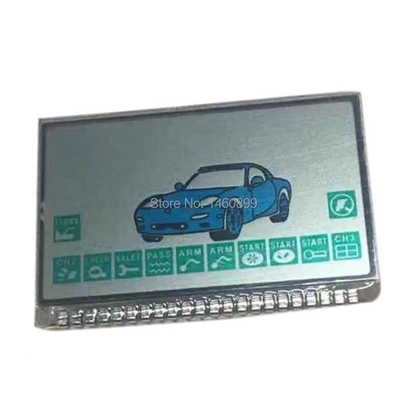 10pcs/lot A9 Keychain LCD Display Screen For Two Way Car Alarm Starline A9 A8 KGB FX-5 FX5 FX 5 Lcd Remote Control Key 10 PCS