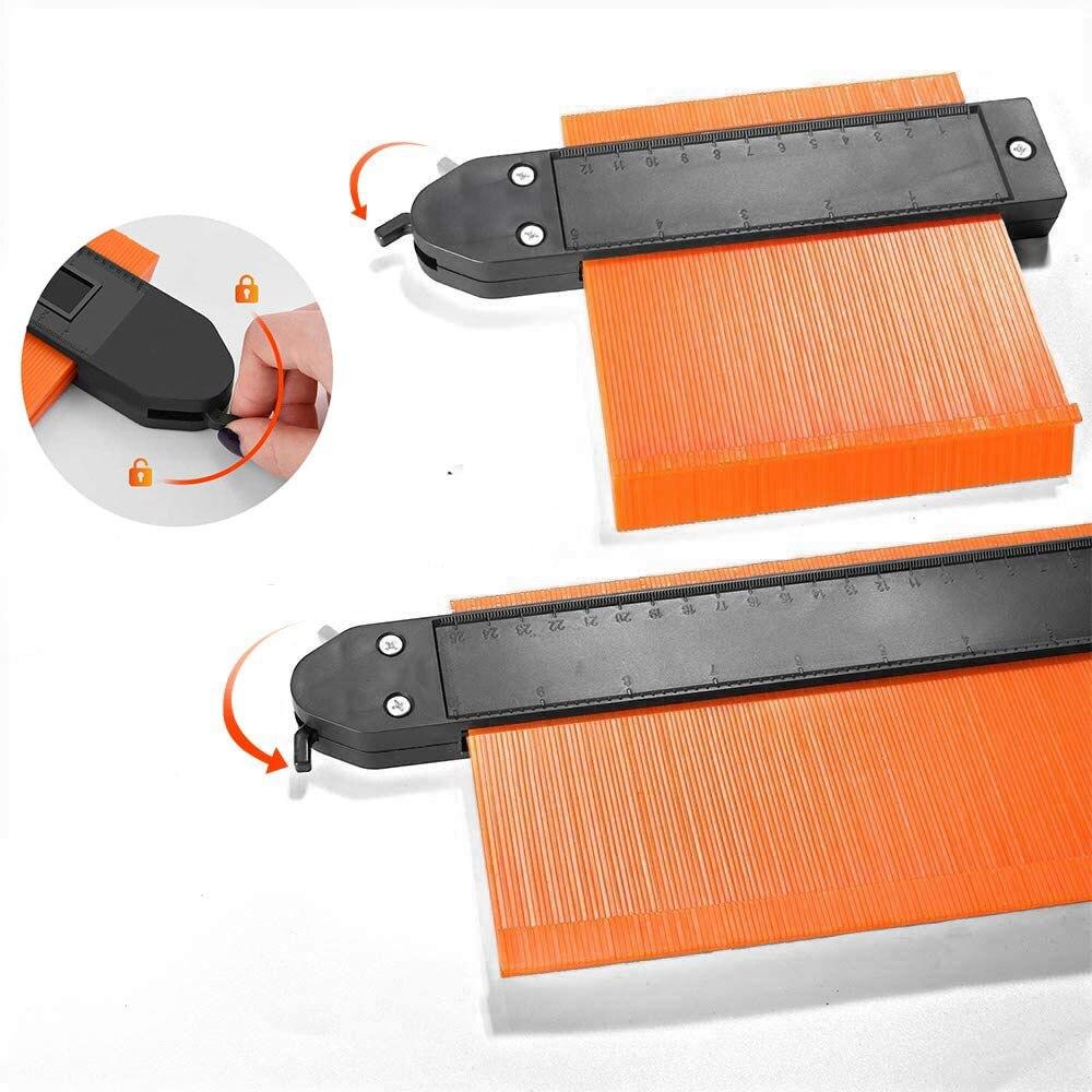 Дубликатор контурный универсальный шаблон учебный инструмент для плитки копировальный угловой измеритель контурный манометр