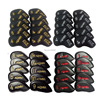 10pcs/set Honma golf iron club headcover set upscale PU wit Single-sided embroidery golf rods cover 4-11 AW SW Free shipping