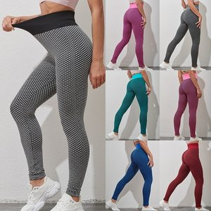 Women Anti-Cellulite Yoga Pants White Sport leggings Push Up Tight Gym Exercise High Waist Fitness Running Athletic Trousers 5XL