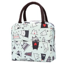 Новая сумка для ланча, свежесть, изоляция, холодные тюки, термостойкая, Оксфорд, водонепроницаемая, удобная сумка для отдыха, милый цветок, мультфильм, Cuctas, Tote bolso
