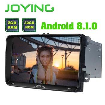 "9""Head Unit Octa Core 2GB+32GB Android 8.1 Car Radio Stereo For Volkswagen VW Passat B6 Golf GPS Navigation No DVD Player Mirror"
