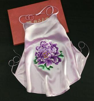 Traditional Chinese underwear 100% Silk Suzhou embroidery Belly wrap Women