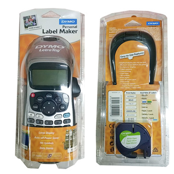 LetraTag LT-100H Handheld Label Maker Compatible For 12mm Letra Tag 91201 91200 12267 91202 Label Tapes 9V 2A Adapter