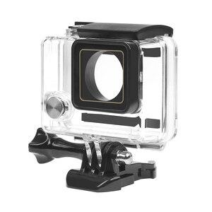 Image 2 - לירות 30M מקרה עמיד למים עבור GoPro Hero 4 3 + שחור כסף פעולה מצלמה עם סוגר מגן דיור עבור ללכת פרו 4 אבזר