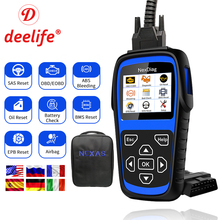 купить Deelife Full System Diagnostic Tool OBD2 Scanner ( for Mercedes Benz ) Airbag ABS SRS OBD 2 Code Reader SAS BMS EPB Oil Service дешево