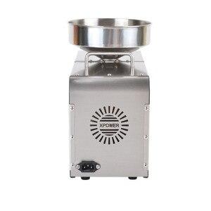 Image 3 - 110/220V 610W piedino Olio Per Uso Domestico in acciaio inox Olio di macchina della pressa di olio di Arachidi maker uso per di Sesamo /mandorle/Noce
