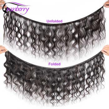 """CRANBERRY Hair 8-26\"""" M Body Wave Bundles Can Buy 3/4 Bundles Brazilian Hair Weave Bundles Remy Human Hair Bundles Natural Color"""