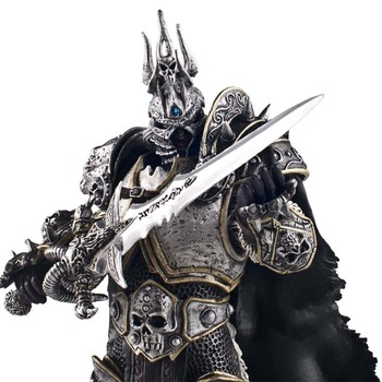 World Of Warcraft Figure Gift Modle WOW Movie Toys Death Knight  Lichking 7Inch 18CM Arthas Menethil Lich King Figma Toy Collect 2