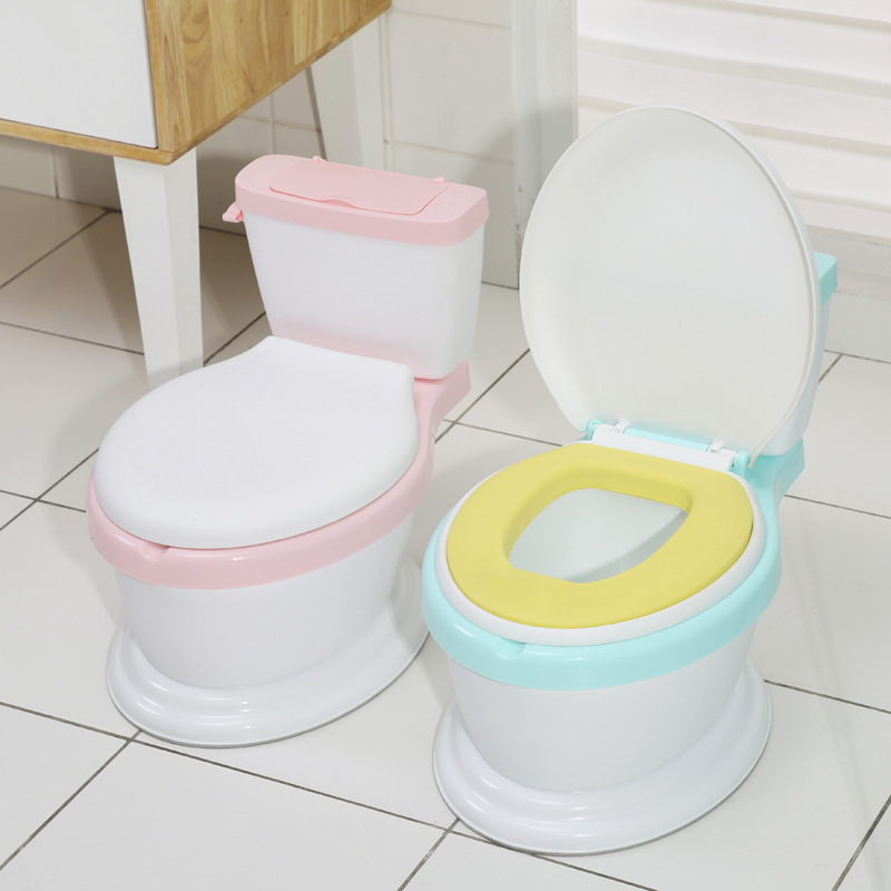 CHILDREN'S Toilet Baby Toilet Kids Chamber Pot Infant Urinal Bedpan Pu Anti-True Toilet New Style