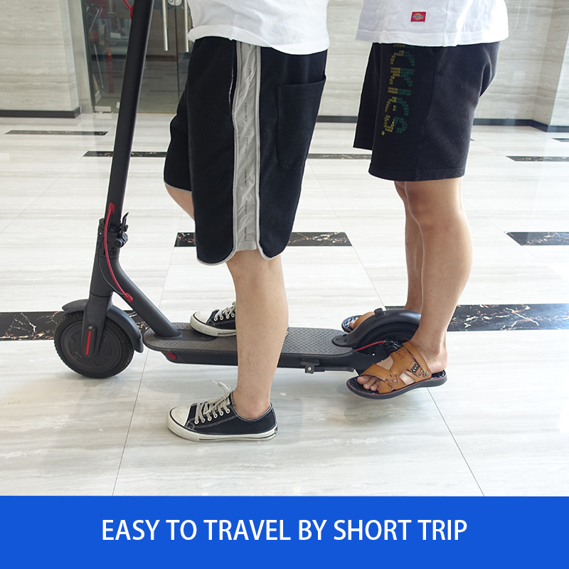 1 Pair Back Pedal Rear Feet Rest Pad for XIAOMI MIJIA M365 Electric Scooter