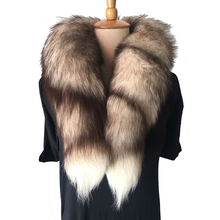 Womens Real Fur Scarf 2018 New Winter Warm Collar Clothes Accessories Shawl Fox For Women and Men NML13