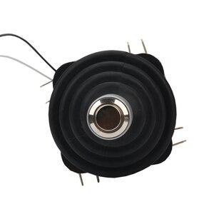 Image 4 - 30mm przełącznik joysticka z Push przycisk przełącznik chwilowy 4 pozycja zatrzaskowy przełącznik kołyskowy Monolever przełącznik krzyżowy HKF4 11A 4