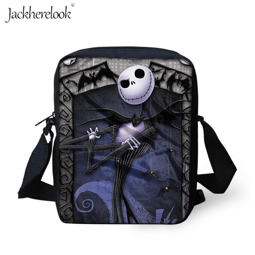 Jackherelook The Nightmare Before Christmas Shoulder Bag Casual Crossbody Bag For Men/Women Handbag For Girls