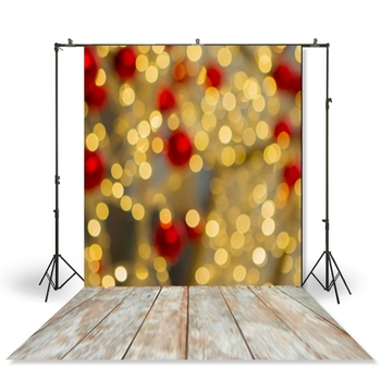HUAYI Photography Backdrop Newborns Baby Child Photo Booth Background Christmas Sparkling Bokeh Studio Backdrop XT-4980 image