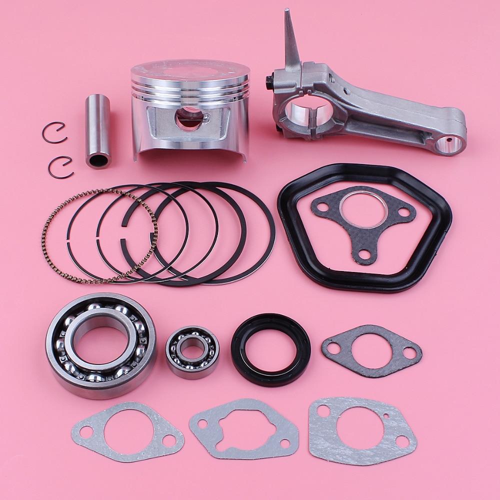 Roller Kit For Honda GX390 13HP Crankshaft Piston Set Connecting Rod Rings