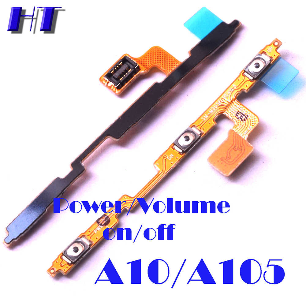 Voor Samsung Galaxy A10 A105F A105G A105DS A105FN A105M Power On Off Button Moederbord Usb Charing Board Microfoon Flex Kabel